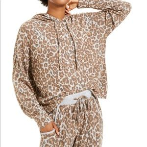 Hippie Rose Junior's Cheetah Cozy Soft Hoodie